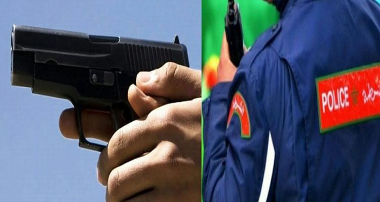 مولاي رشيد: شرطي يضطر لاستخدام سلاحه لتحييد الخطر الصادر عن شخص من ذوي السوابق القضائية