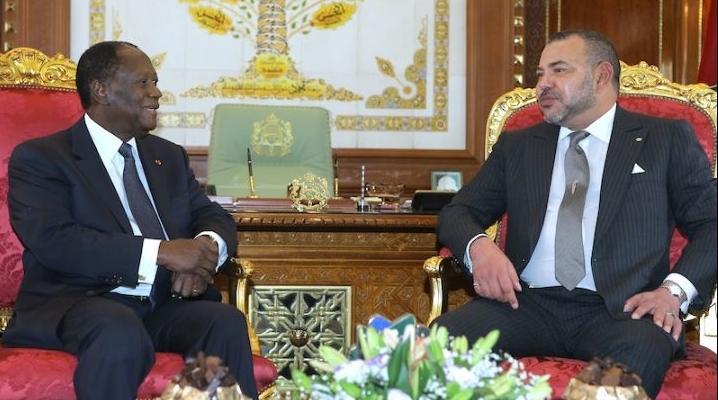 الكركرات .. الرئيس الإيفواري يؤكد لجلالة الملك تضامن بلاده ودعمها الكامل لمبادرات جلالته