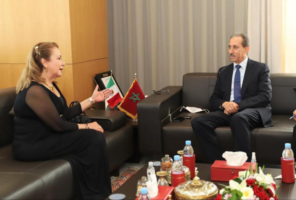 السيد رئيس النيابة العامة يبحث سبل تعزيز التعاون القضائي مع نائبة رئيس المجلس الأعلى لدولة المكسيك