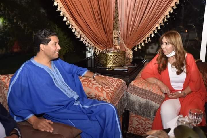عبد النبي بعوي يجتمع مع قيادات محلية و جهوية لحزب البام بمنزل سليمة فرجي.