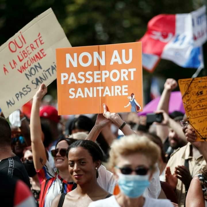 مواصلة الإحتجاجات الرافضة لقيود مكافحة كورونا في فرنسا