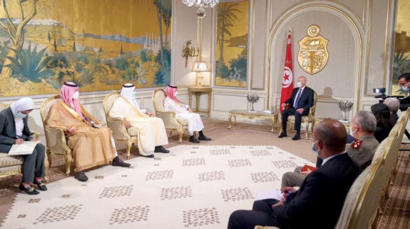 قيس سعيّد يثمن وقوف السعودية الدائم مع بلاده