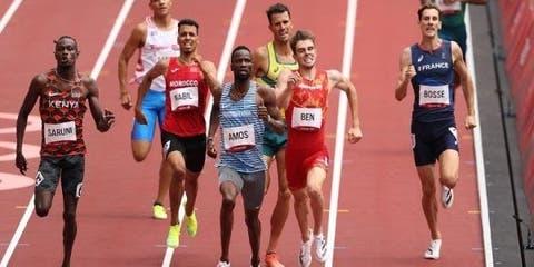 إقصاء العداءان المغربيان عبد العاطي الكص ونبيل أسامة في نصف نهاية 800 متر.