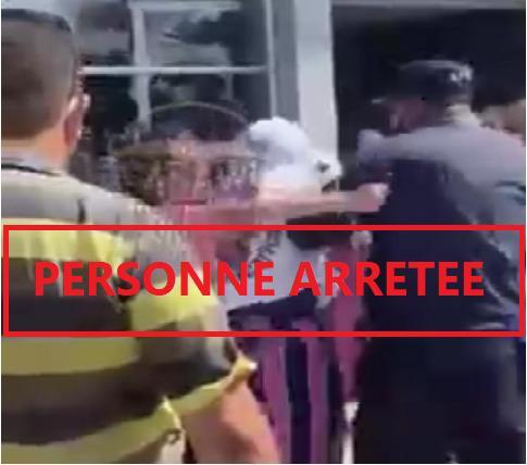ولاية أمن الدار البيضاء تتفاعل مع مقطع فيديو ،تظهر فيه فتاتين يمارسان عنف جسدي في حق شرطي