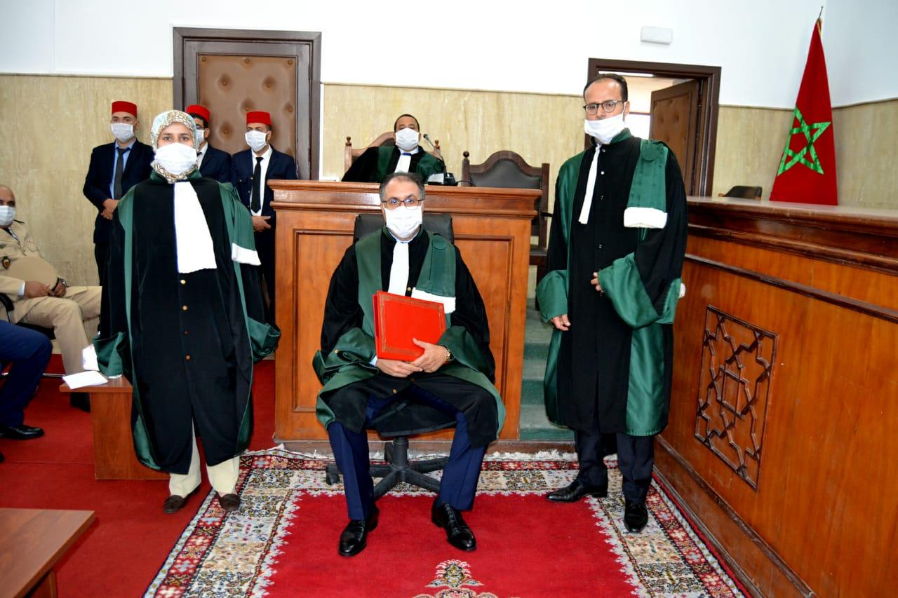 تنصيب الرئيس الأول لمحكمة الاستئناف والوكيل العام للملك بالحسيمة