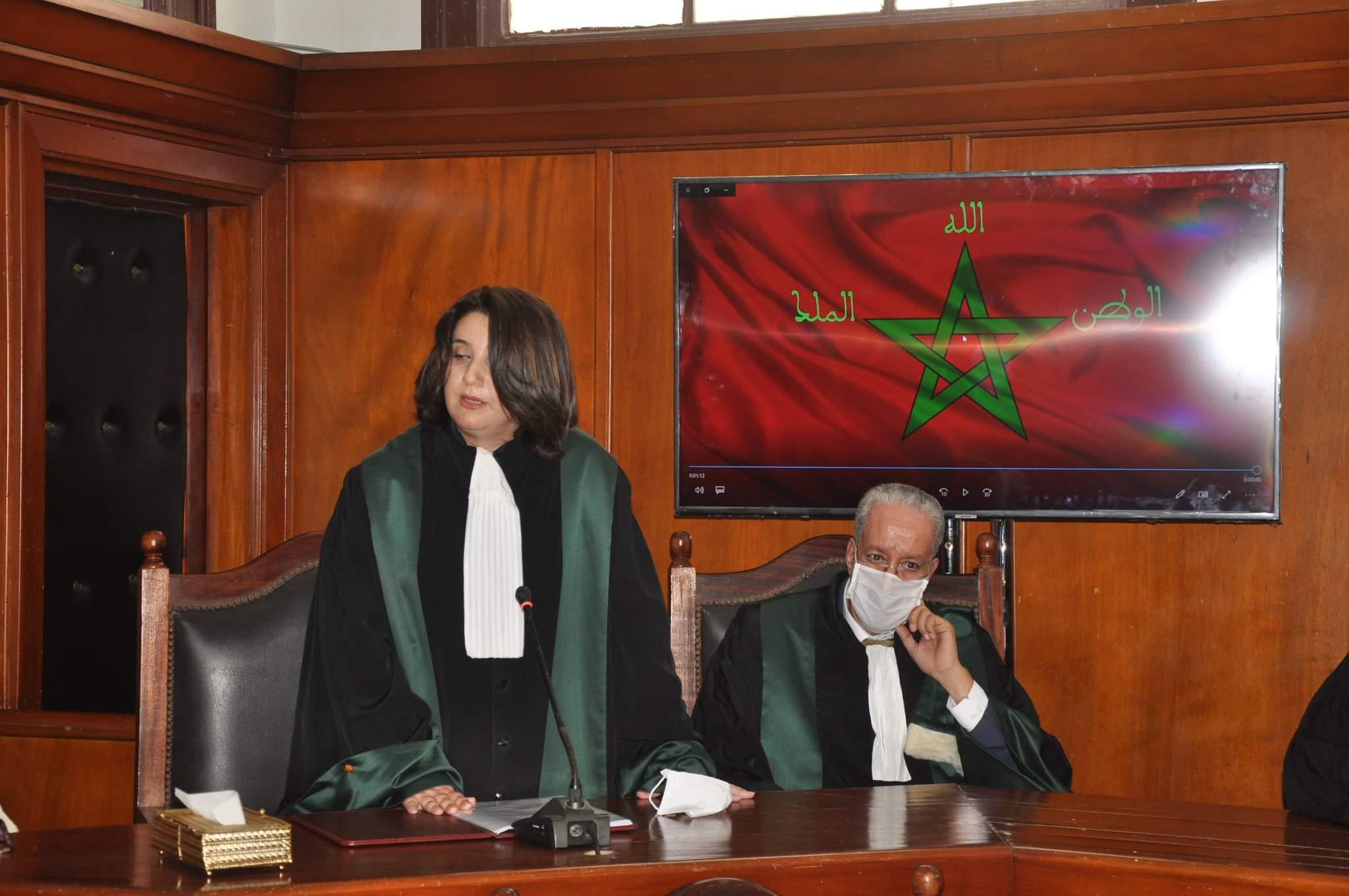 تنصيب الأستاذة غزلان بلبول وكيلة الملك لدى المحكمة التجارية بطنجة.