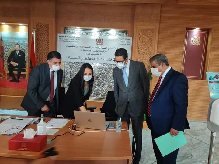 عملية إيداع التصريحات بالترشيح لانتخابات ممثلي القضاة بالمجلس الأعلى للسلطة القضائية برسم الولاية 2026-2022 مستمرة على مدار هذا الأسبوع