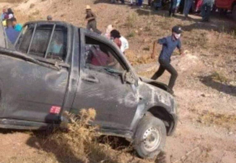 خنيفرة : حادثة سير مؤلمة لمشاركين في احتفالات فوز المنتخبين بمنطقة مزكوشن