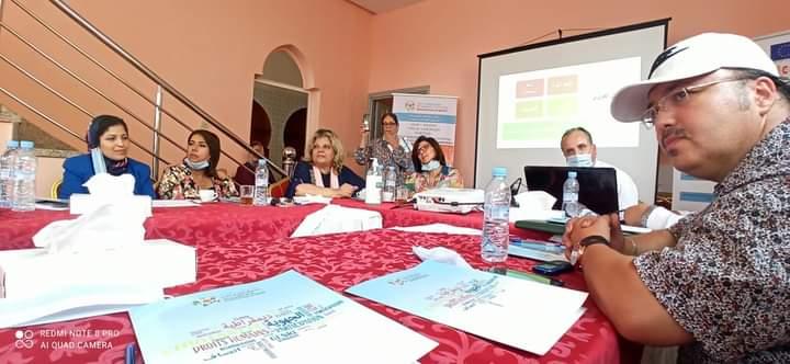 جمعية وجدة عين الغزال تنظم ندوة حول دور الاعلام في تعزيز المشاركة المواطنة للمرأة.