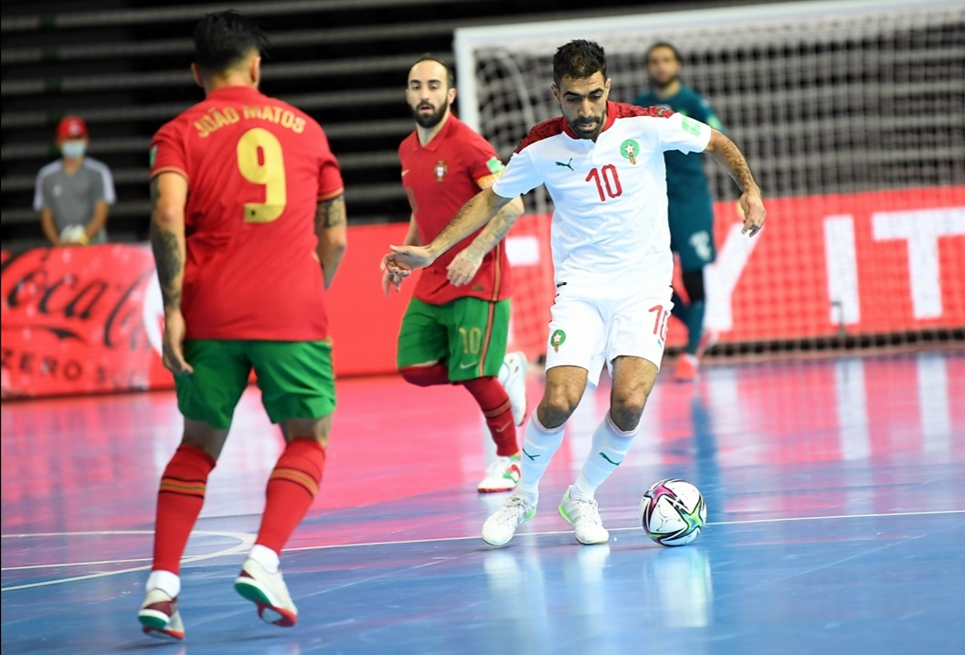 مغاربة الفوتسال أمام فرصة تاريخية لكتابة ملحمة كروية ضد المنتخب البرازيلي برسم ربع نهائي كأس العالم لكرة القدم داخل الصالات