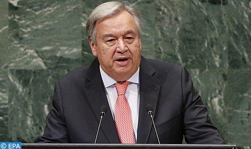 تقرير الأمين العام للأمم المتحدة في إشارة إلى رسالة ملكية.. تدخل المغرب في الكركرات لا رجعة فيه