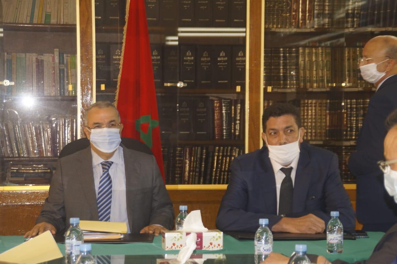 الوكيل العام للملك باستئنافية فاس يعقد لقاء تواصلي مع كبار المسؤولين الأمنيين وعناصر الضابطة القضائية