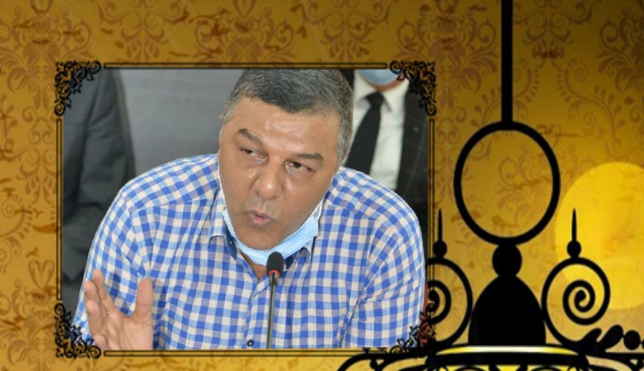 محمد إكليوين رئيس مقاطعة الفداء يهنئ صاحب الجلالة بمناسبة عيد المولد النبوي الشريف