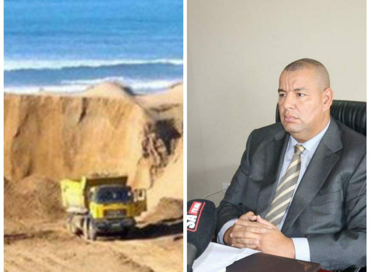 وكيل الملك بإبتدائية برشيد يعلن الحرب على الخارجين عن القانون ويسقط شبكة لسرقة الرمال بمنطقة سيدي رحال