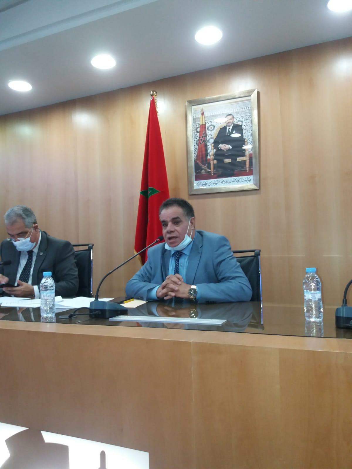 انتخاب أحمد بكور رئيسا لغرفة الصناعة التقليدية لجهة طنجة تطوان الحسيمة.