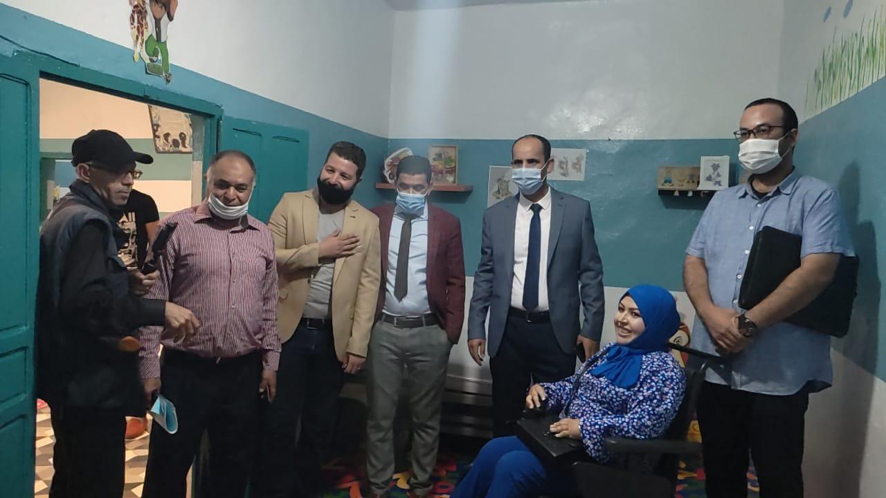 جمعية الاتحاد لمساندة ذوي الاحتياجات الخاصة تستقبل اللجنة الإقليمية برئاسة باشا طانطان لإعطاء انطلاقة الموسم الدراسي الجديد. 2021/2022