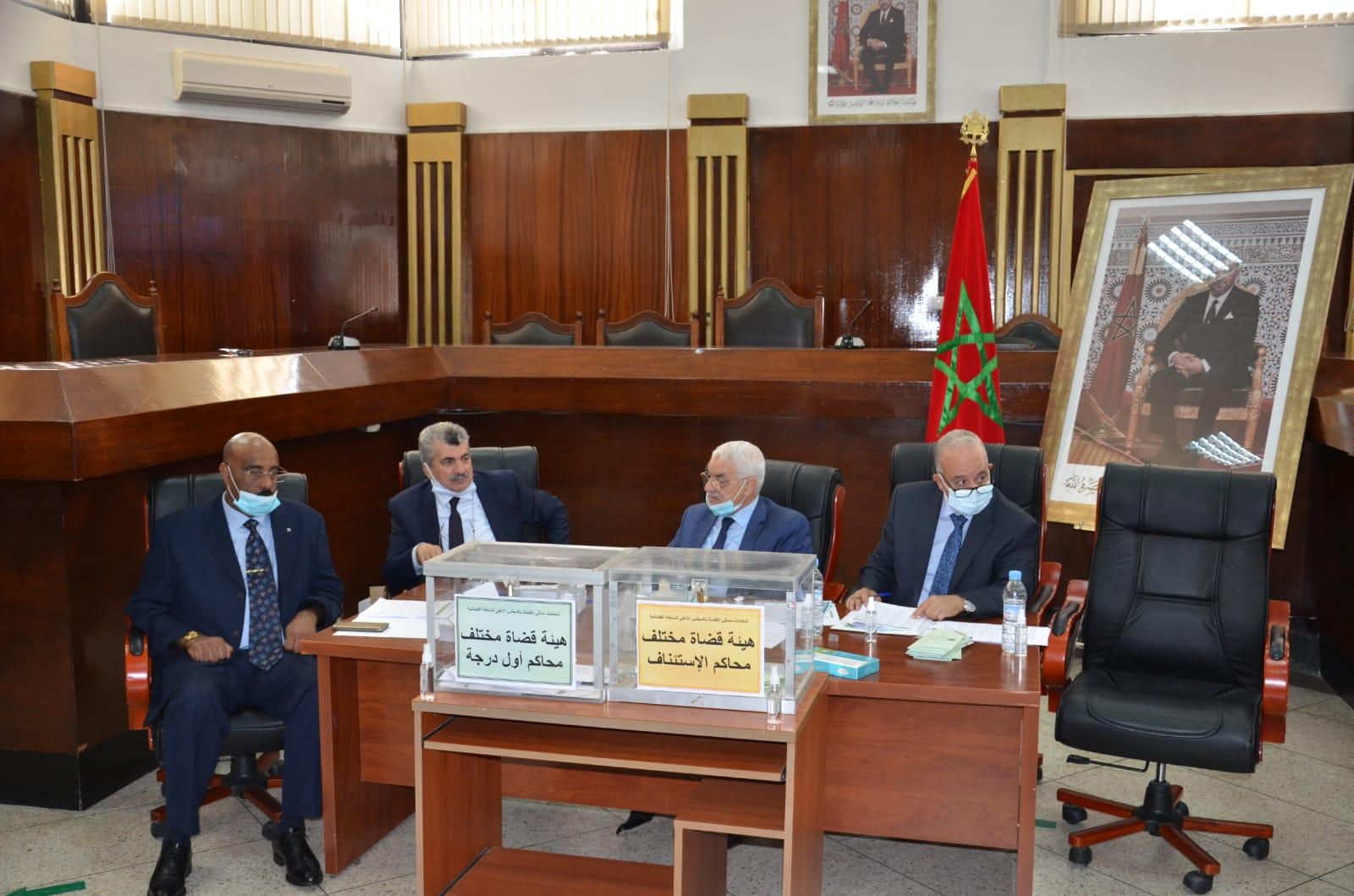 النتائج النهائية لانتخابات ممثلي القضاة بالمجلس الأعلى للسلطة القضائية