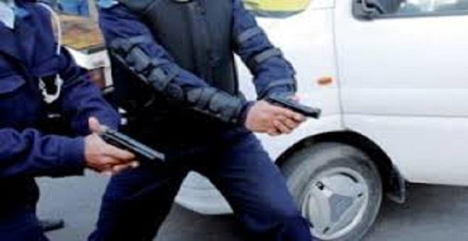 تيفلت..إشهار السلاح لايقاف شخص مبحوث عنه حاول اختطاف سيدة تحت التهديد